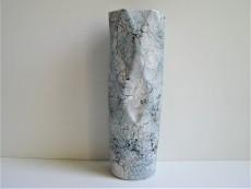 Vase weiß | mint | hellblau im Marmor - Look