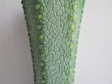 Vase | jade | mit Schmucksteinen verziert